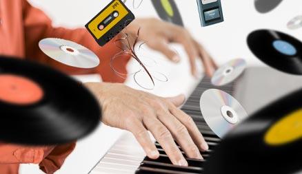 Jouez des chansons au piano
