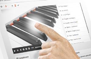 Des cours de piano intuitifs