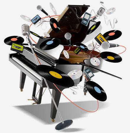 Apprendre des chansons au piano