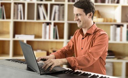 Un professeur de piano à votre écoute