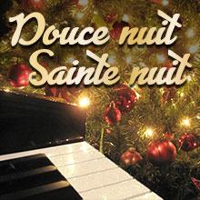 apprendre Douce nuit, sainte nuit au piano