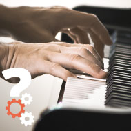 apprendre Les accords majeurs et mineurs au piano