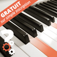 apprendre Les notes et la notation universelle au piano