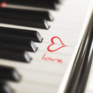 Saint Valentin au piano